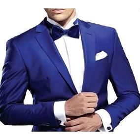 Ternos Masculino Plus Size Cor Azul Pronta Entrega + Brind