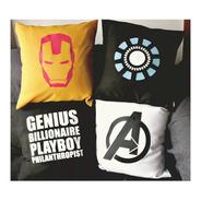Almohadones Civil War Capitan América Iron Man Avengers