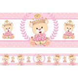 Faixa Decorativa Adesivo Border Infantil Bebe Menina +brinde