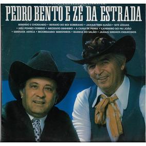 Disco De Vinil Lp 1989 Sucessos Pedro Bento E Zé Da Estrada