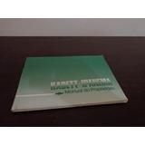 Manual Original Gm Kadett Ipanema Sl Sl/e Gs 1.8 2.0 89 90