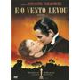 E O Vento Levou - Romance 1939 - Dvd Novo Original Lacrado