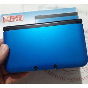Nintendo 3ds Xl Azul + Jogo Zelda Original