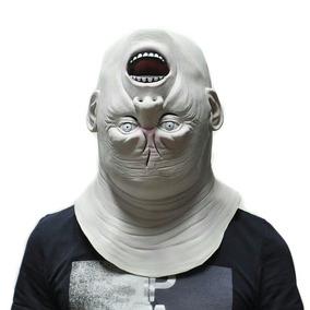 Máscara Halloween Monstro De Cabeça Para Baixo Carnaval