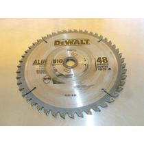 Dewalt Disco.7 1/4 Pulg. 48 Dientes Corte Aluminio