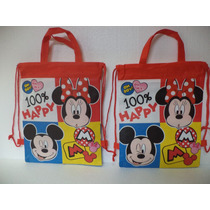 Dulceros Mickey Minnie Mouse Fiestas Recuerdos Regalos 10 Pz