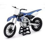 Yamaha Yz 450f Motocross Replica Moto Escala 1:12 Top Racing
