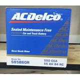Bateria Acdelco Chevrolet Colorado Optra