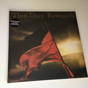 Thin Lizzy Lp Renegade 1981/2011 Back On Black Vinil