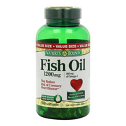 Omega 3 Fish Oil 1200mg 180 Capsulas Softgel Importado Usa