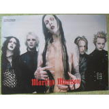 Lote Marilyn Manson Poster Recortes Notas