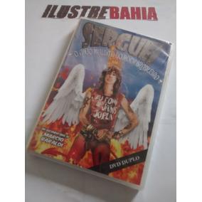 Dvd Serguei O Anjo Maldito Do Rock Brasileiro (duplo)
