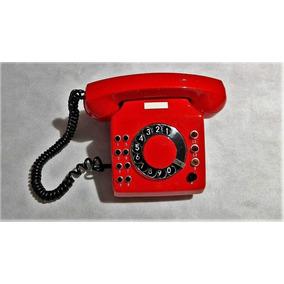 Teléfono Rojo Nuevo Decorativo