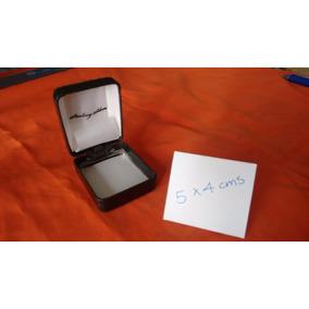 12 Pcs. Caja Joya Rígida C/ Bisagra (anillos/aretes) 5x4 Cms