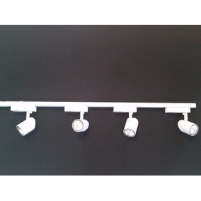 Kit 5 Trilho Eletrificado Mais 20 Spots Led 7w Lampada Par20