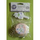 *capacillos Y Toppers Osito 1er Año Wilton Cupcake Panquecit