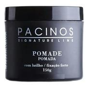 Pomada Brilho Fixação Forte 150g - Pacinos Signature Line