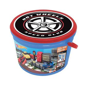 Massinha Hot Wheels Balde Roda Radical Frenzy Toys 7728-8 Fr