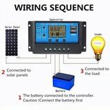 Controlador De Carga 20a Para Bateria De Lithium 12v