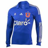 Camiseta Universidad De Chile 2014 Talle L Etiq Mga Larga!