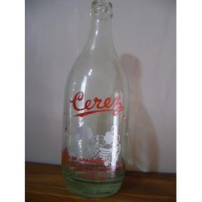 Antigua Botella Soda Cerez 500 Cc