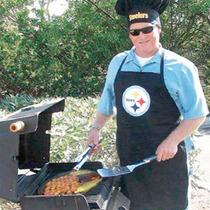 Pittsburgh Steelers Nfl Mandil Y Gorro De Chef 100% Original
