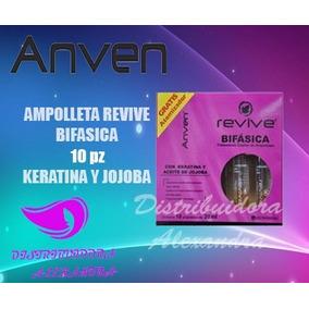 Anven Ampolletas Revive Bifasica P/ Cabello Dañado
