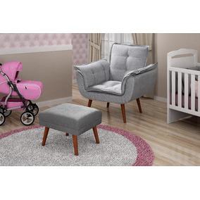 Cadeira Amamentação Opala + Puff + Brinde Bandeja Laqueada. Usado - Minas  Gerais · Poltrona Opala Amamentação Promoção 5535780fbd