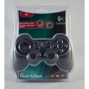 Control Logitech Dual Action Para Pc Usb Nuevo