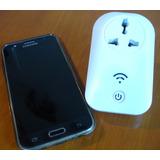 Smart Socket Wifi Para Alarmas Prende Electrodomesticos