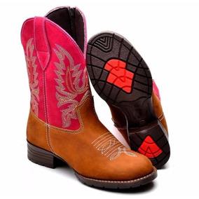 Bota Texana Infantil Masculina Country Rodeo Western
