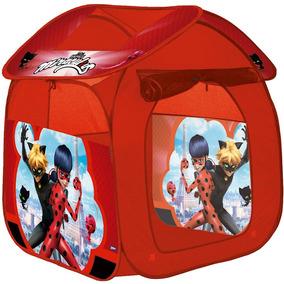 Barraca Portátil Casa Ladybug Vermelha - Zippy Toys