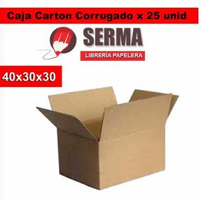 Cajas De Carton 40x30x30 Embalaje X 25 Cajas