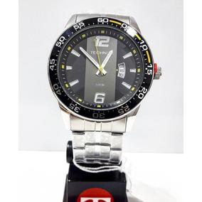 Relógio Technos Masculino Prata 2115ksq1y