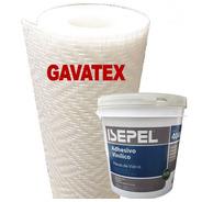 Humedad En Paredes Revestimiento Gavatex A6 50m+adhesivo 10k