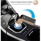 Nuevo Bluetooth Fm Transmisor Mp3 Player Usb Cargador De Coc