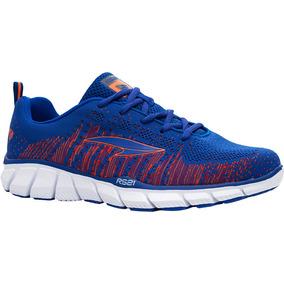 Zapatos Deportivos Rs21 Ionic Caballero (azul Rey/naranja)