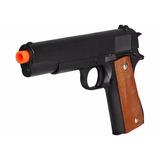 Pistola De Airsoft Galaxy G13 Colt 1911 Full Metal C/ Coldre