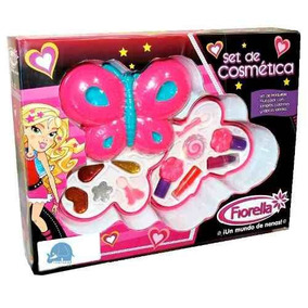 Set De Cosmetica Fiorella Mariposa Muticolor Original Nenas