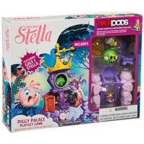 Juguete Angry Birds Stella Telepods Piggy Palace Playset Ju