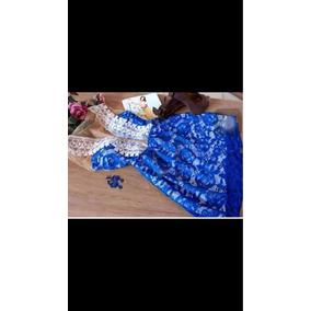 Vestido Rodado Decote Tule Renda Com Gripier Festa Elegante