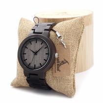 Reloj De Madera Bobobird 100% Original A Precio De Remate