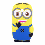 Icase - Carcasa Minion 3d - Samsung Core 2 - Goma
