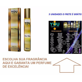 Perfume One Way Masculino 30ml You Take On