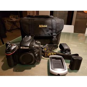Nikon D610 Body Perfecto Estado