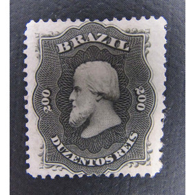 Selo Brasil Rhm28 D. Pedro Ii 200rs 1866 Sem Goma Restaurado