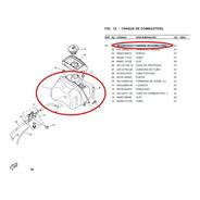 Tanque Yamaha Jog 50 Cy 50 Original Usado Com Detalhes