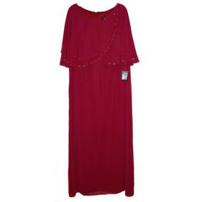 Oferta Vestido Noche Largo Vino 40 Rue De La Paix Condetalle