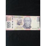 Billete Mexicano De 1000 Pesos