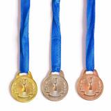 Medalha Honra Ao Mérito Esportiva Bronze Prata Ouro Futebol